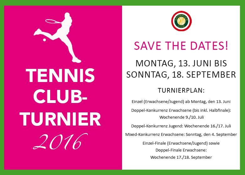 Tennis Clubmeisterschaften